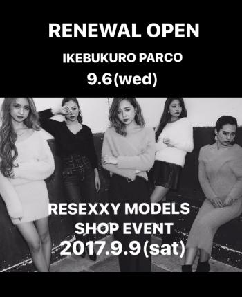 \IKEBUKURO PARCO RENEWAL OPEN/