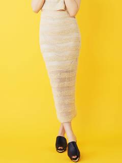 テープヤーンスカート