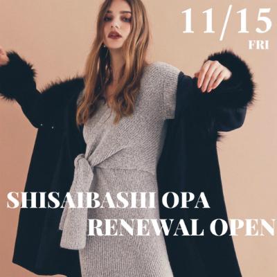 \ 心斎橋OPA店 RENEWAL OPEN/