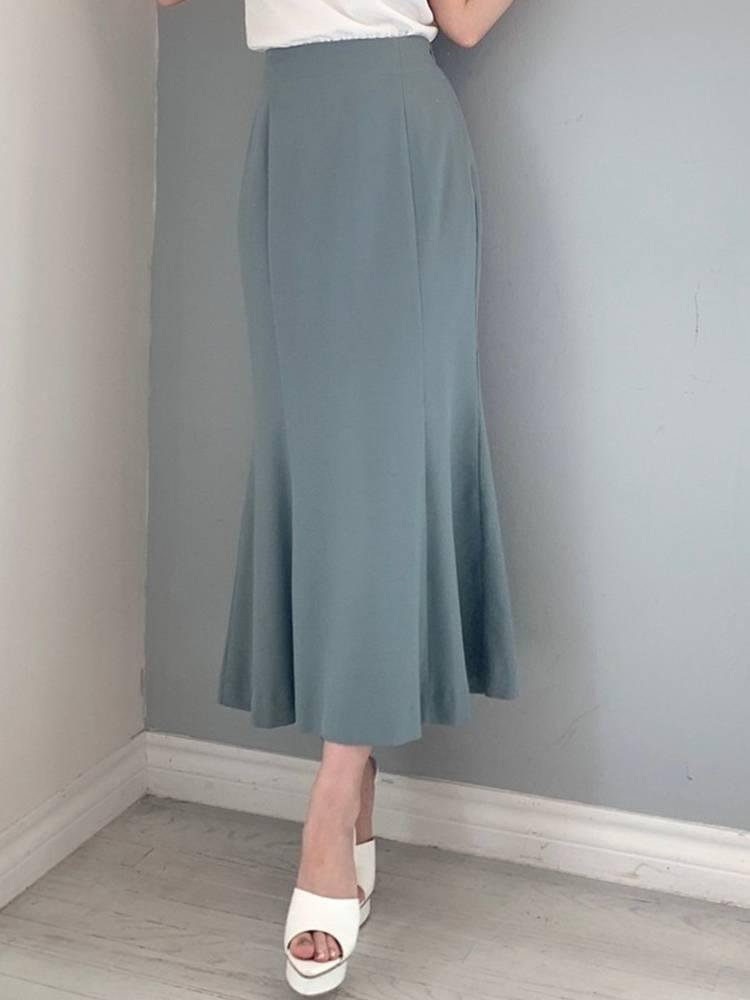 ストレッチマーメイドスカート